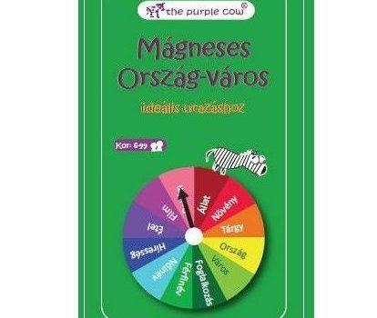 The Purple Cow mágneses utazó játékok